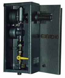 Газорегуляторные пункты шкафные ГРПШ-6, ГРПШ-10 с одной линией редуцирования